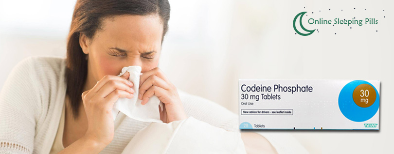 Codeine Phosphate 30mg for Colds and Influenza